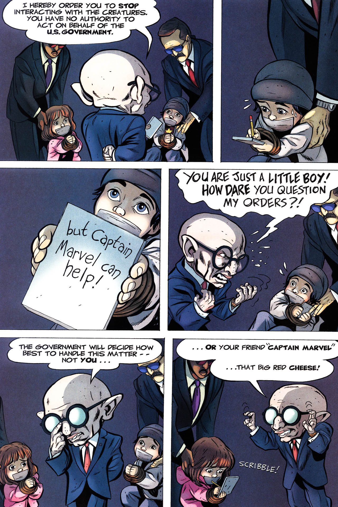 Read online Shazam!: The Monster Society of Evil comic -  Issue #3 - 16