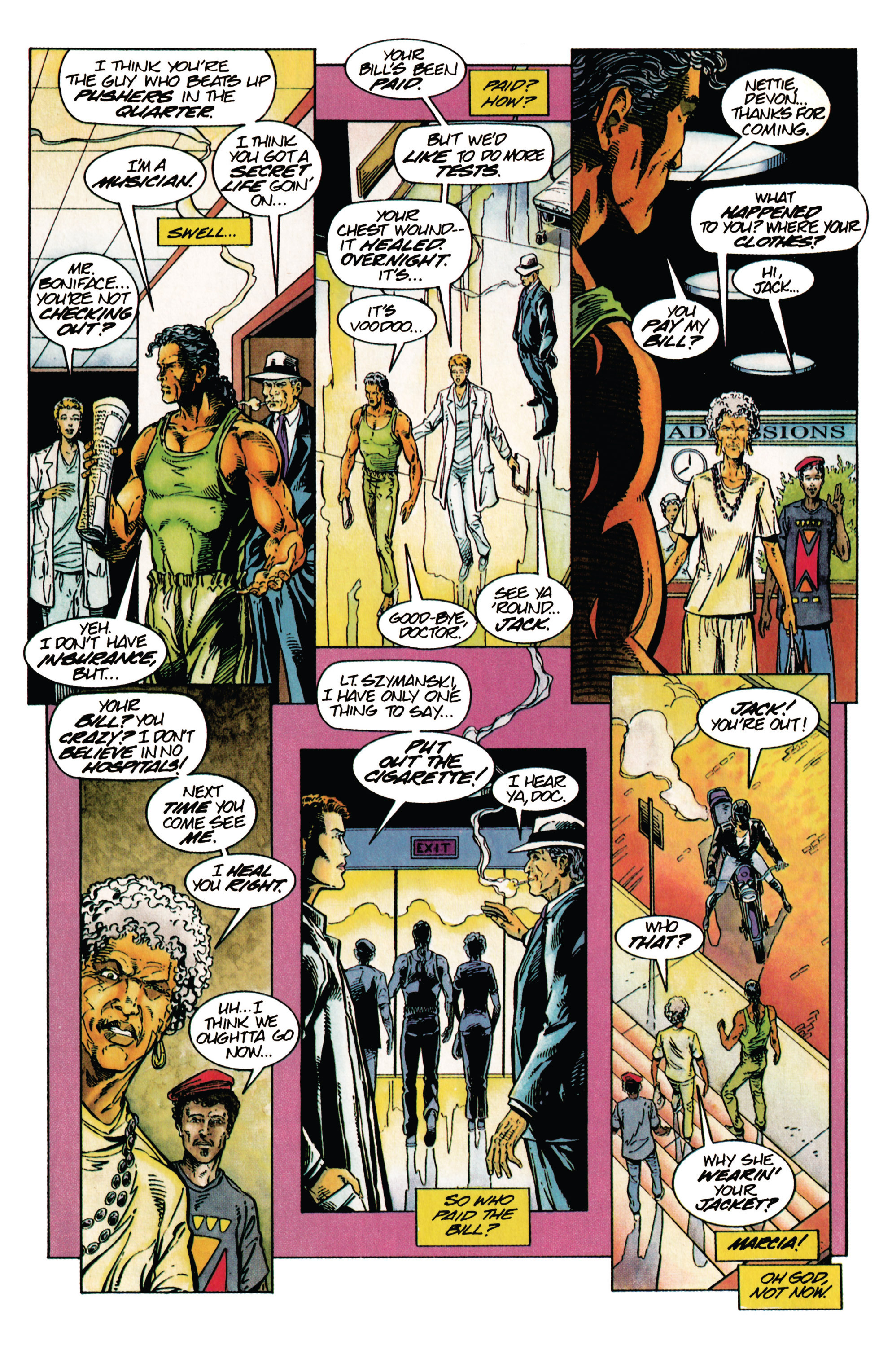 Read online Shadowman (1992) comic -  Issue #28 - 3