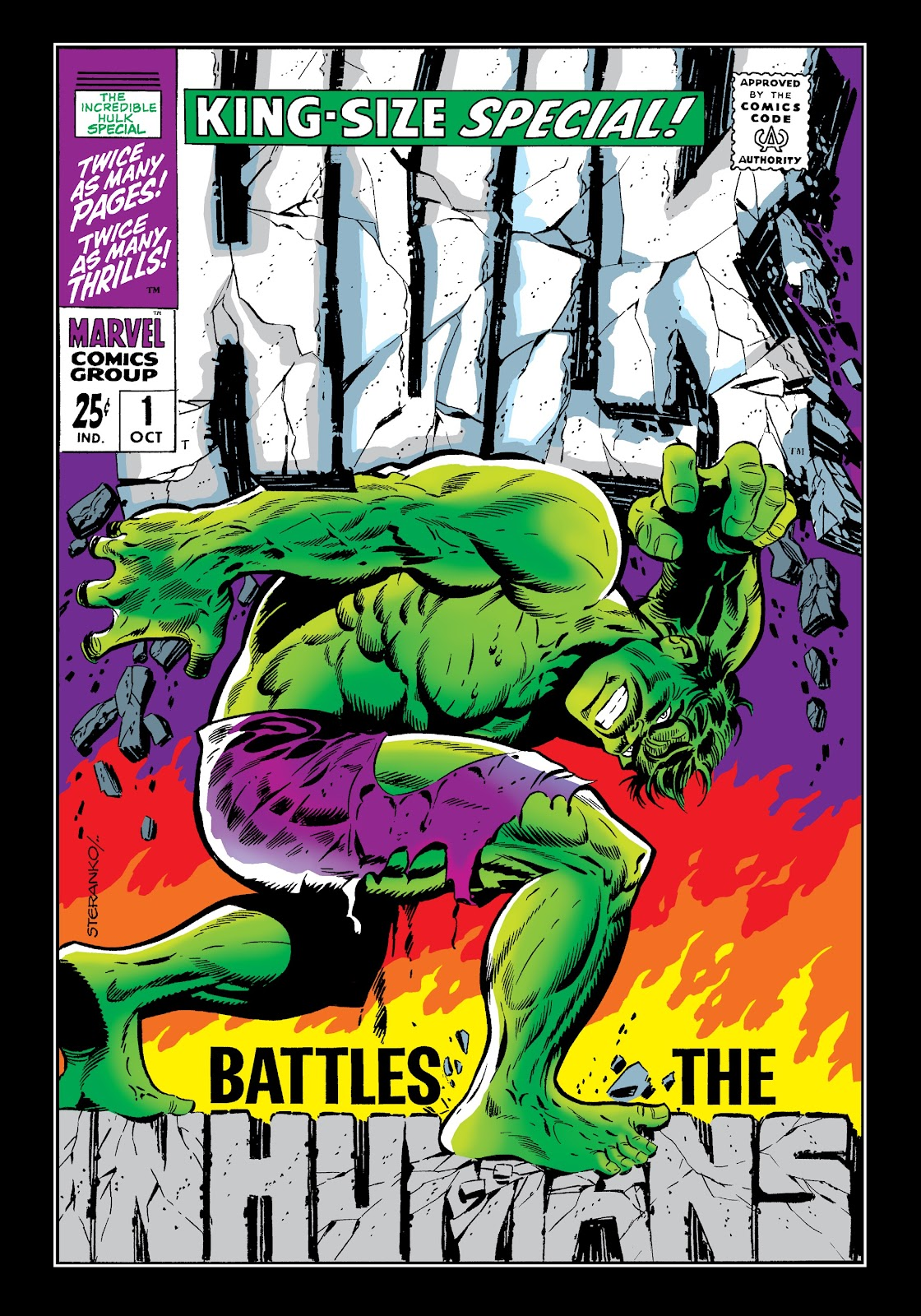 Read online Marvel Masterworks: The Incredible Hulk comic -  Issue # TPB 4 (Part 2) - 33