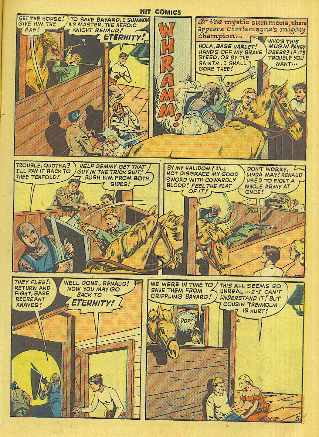 Read online Hit Comics comic -  Issue #56 - 7