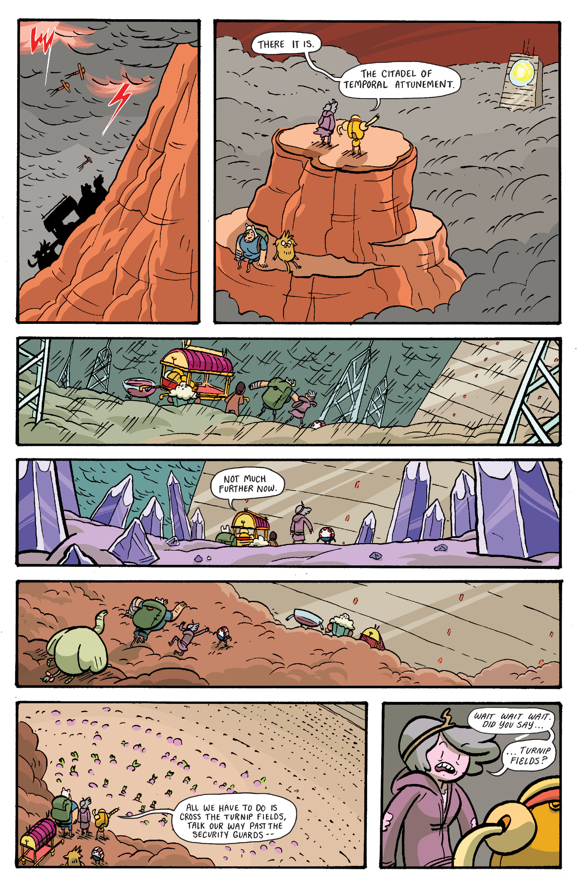 Read online Adventure Time: Banana Guard Academ comic -  Issue #6 - 19