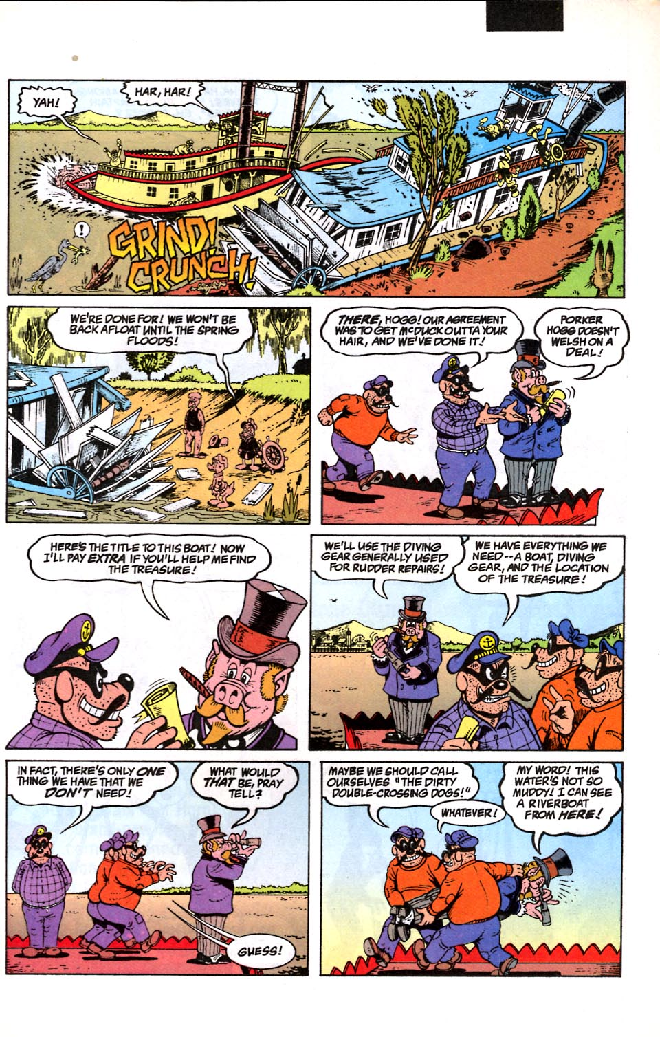 Read online Uncle Scrooge (1953) comic -  Issue #286 - 12