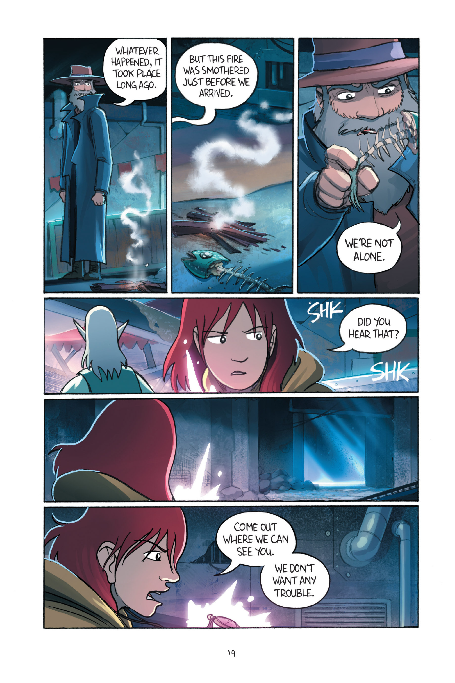 Read online Amulet comic -  Issue #7 - 22