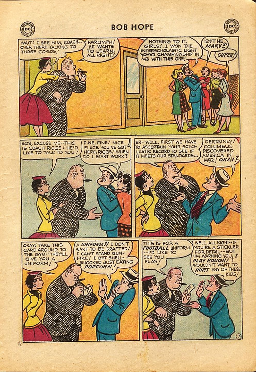 The Adventures of Bob Hope issue 42 - Page 9