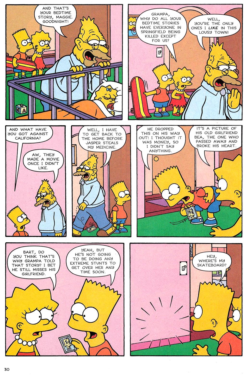 Read online Simpsons Comics comic -  Issue #118 - 25
