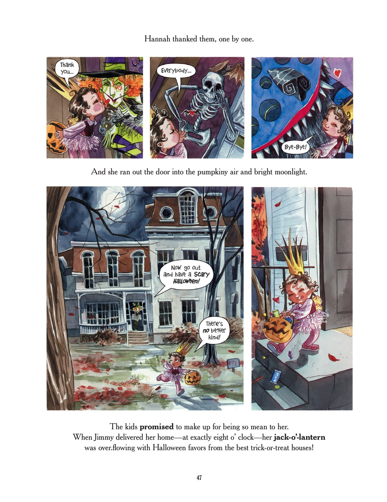 Read online Scary Godmother comic -  Issue # TPB - 47