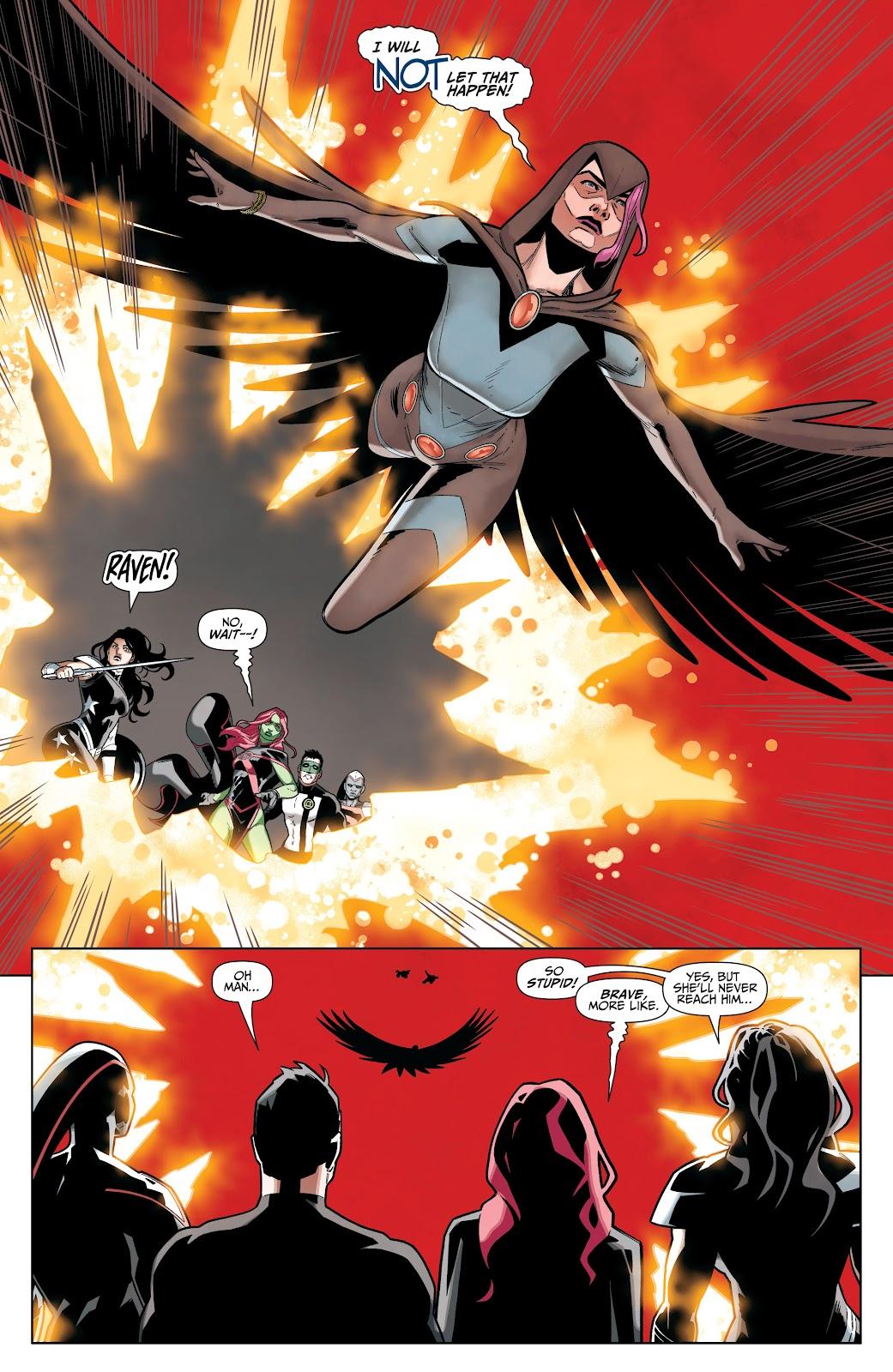 Read online Titans (2016) comic -  Issue #36 - 14