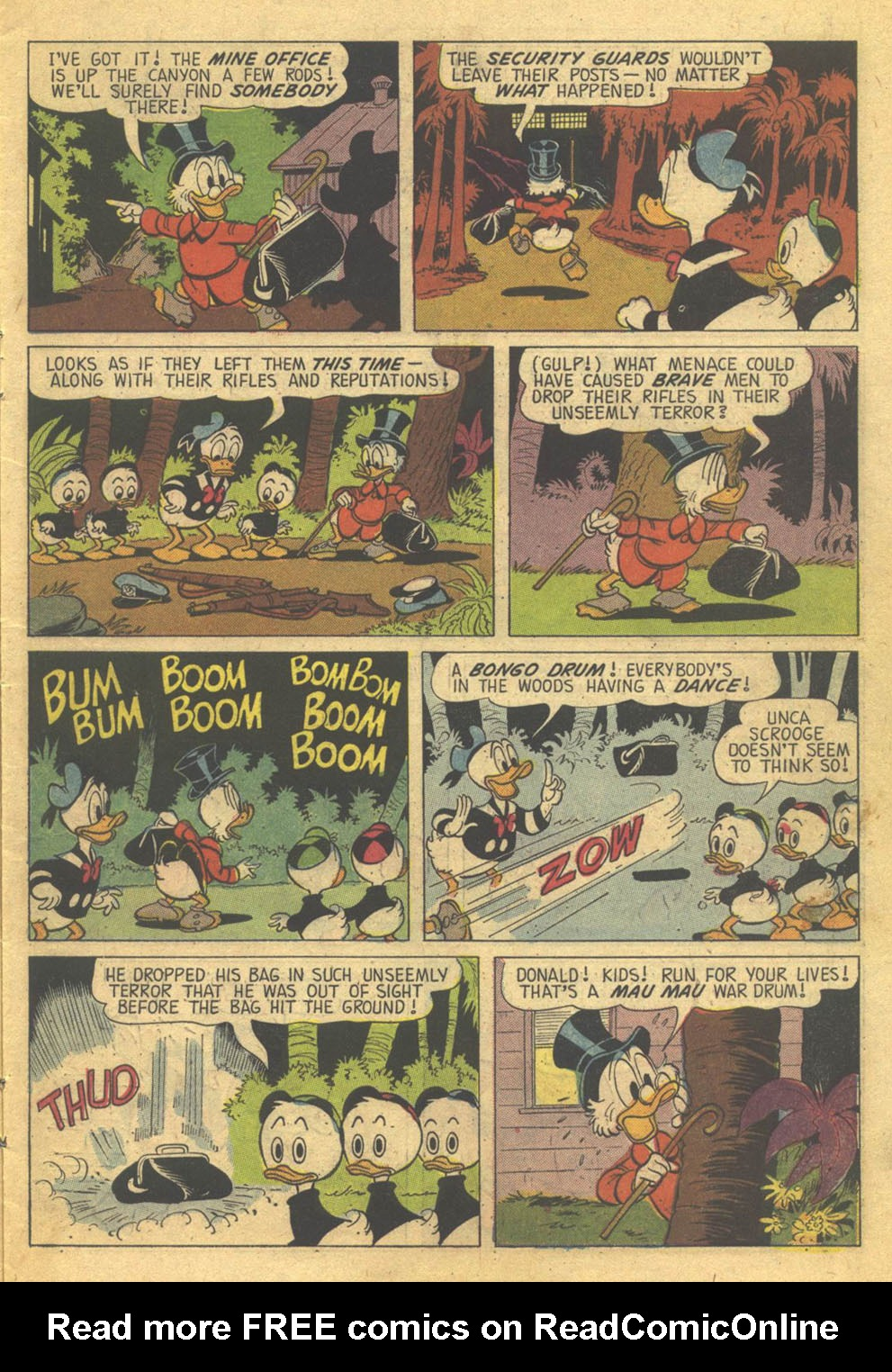 Read online Uncle Scrooge (1953) comic -  Issue #73 - 7
