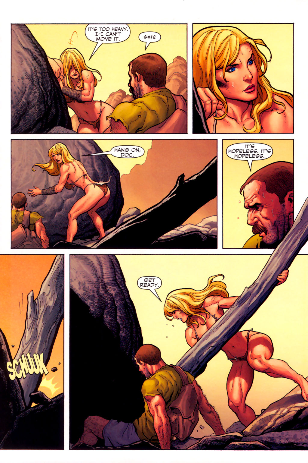Read online Shanna, the She-Devil (2005) comic -  Issue #6 - 18