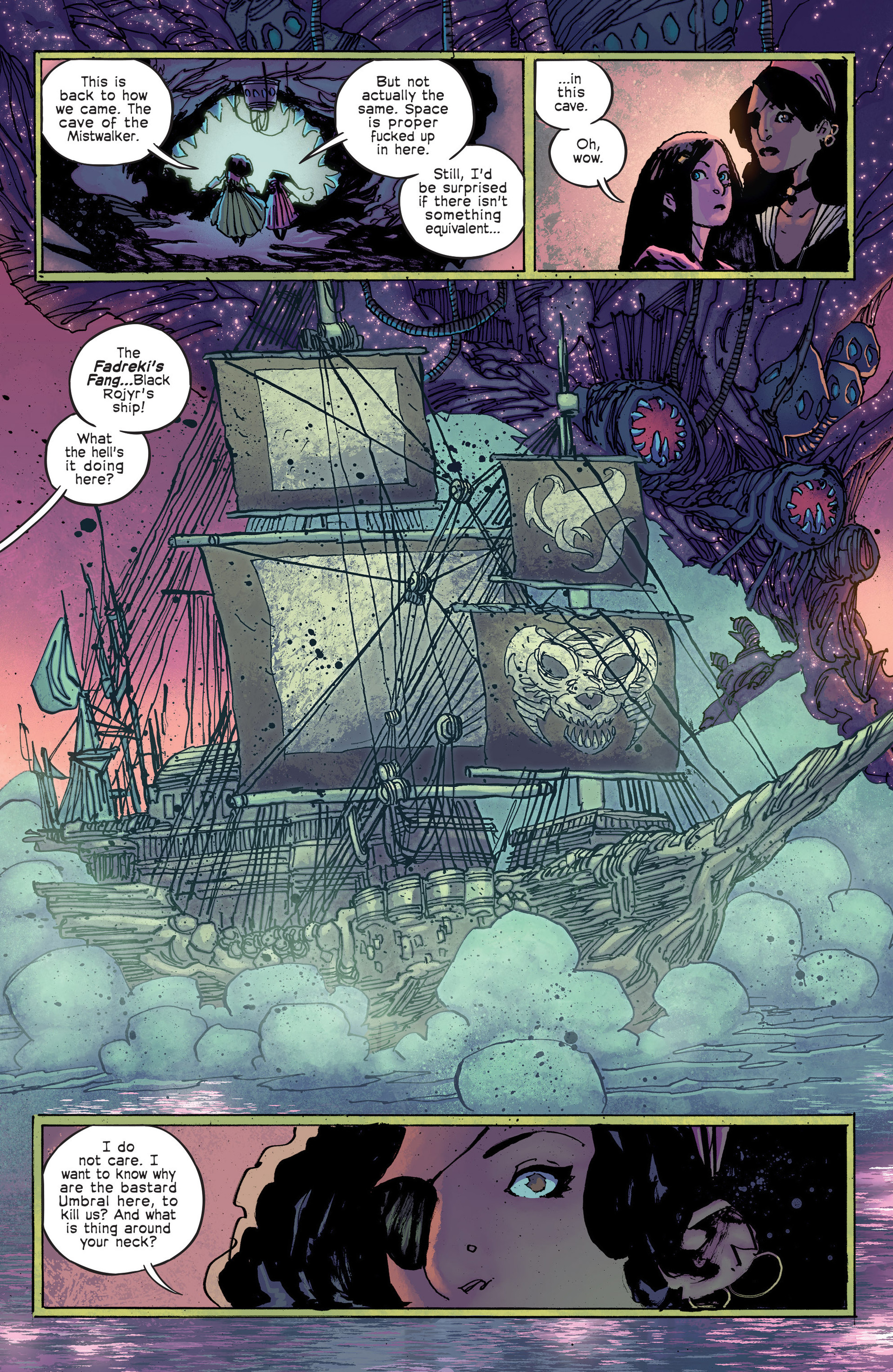 Read online Umbral comic -  Issue #4 - 4