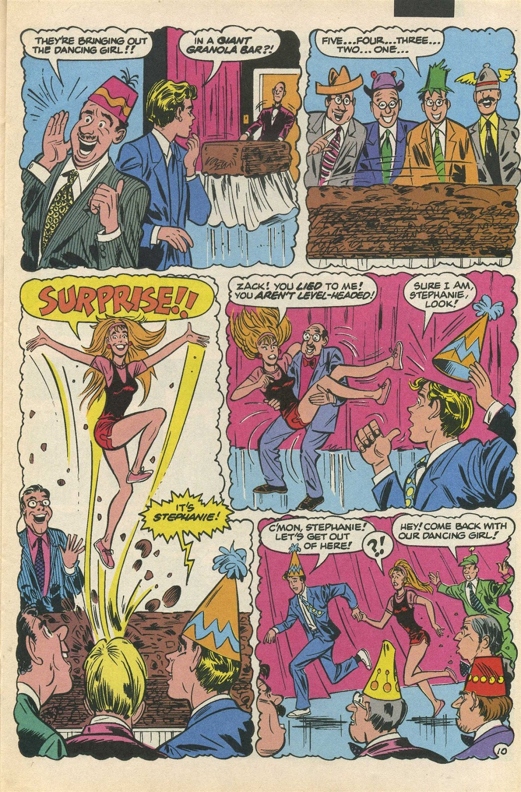 Read online Saved By The Bell comic -  Issue #3 - 15