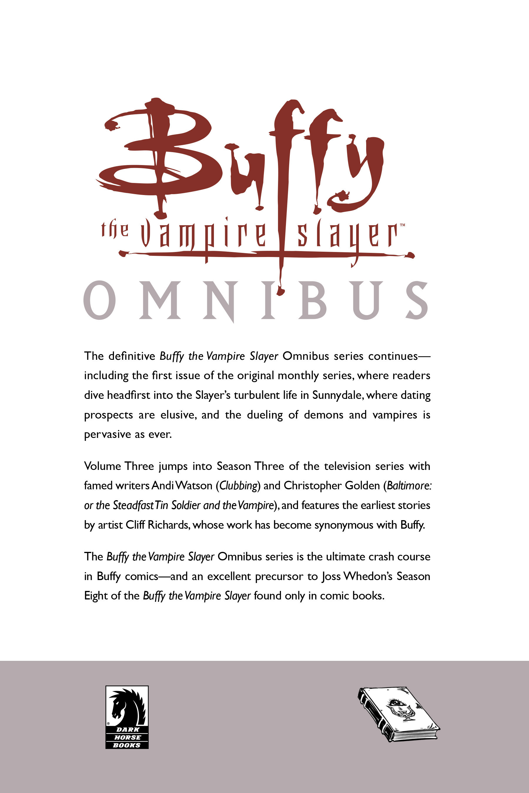 Read online Buffy the Vampire Slayer: Omnibus comic -  Issue # TPB 3 - 293