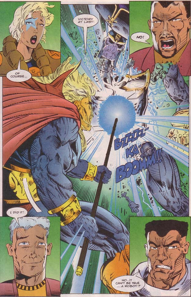 Read online Cyberspace 3000 comic -  Issue #8 - 13