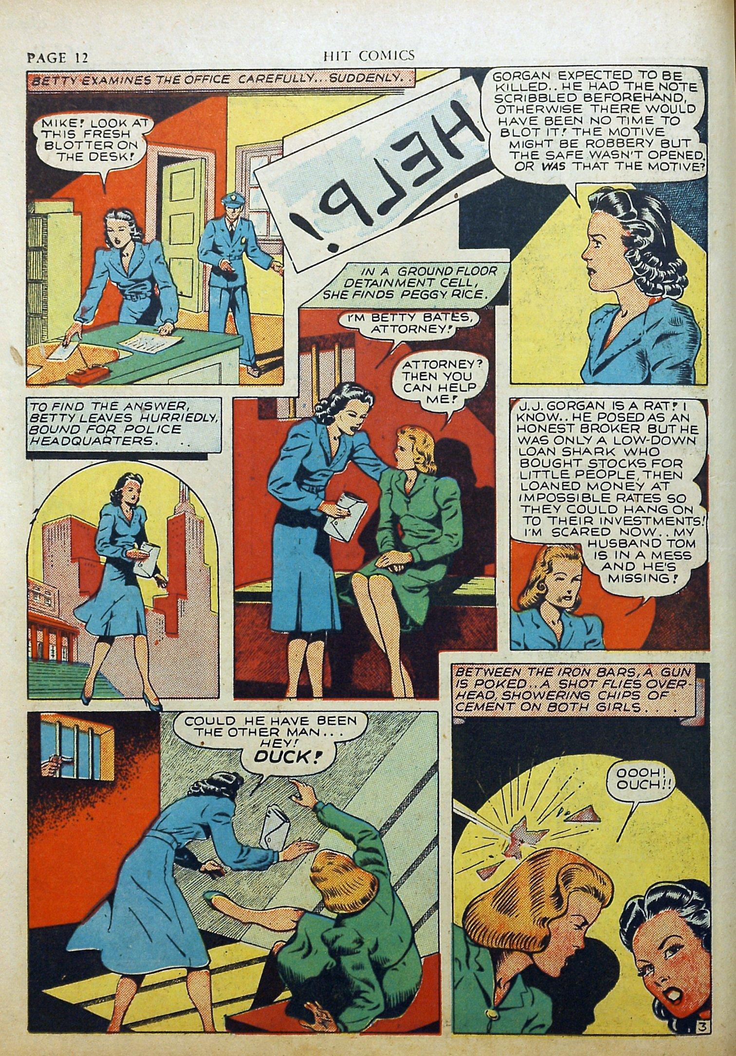 Read online Hit Comics comic -  Issue #17 - 14
