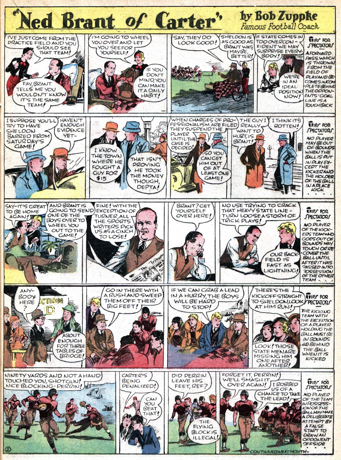 Read online Famous Funnies comic -  Issue #36 - 39