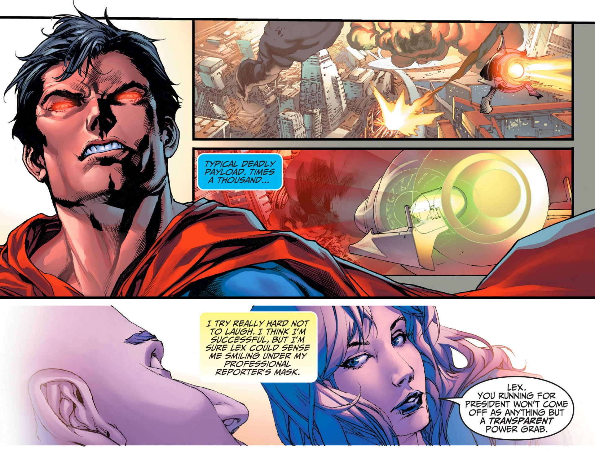 Read online Adventures of Superman [I] comic -  Issue #8 - 4