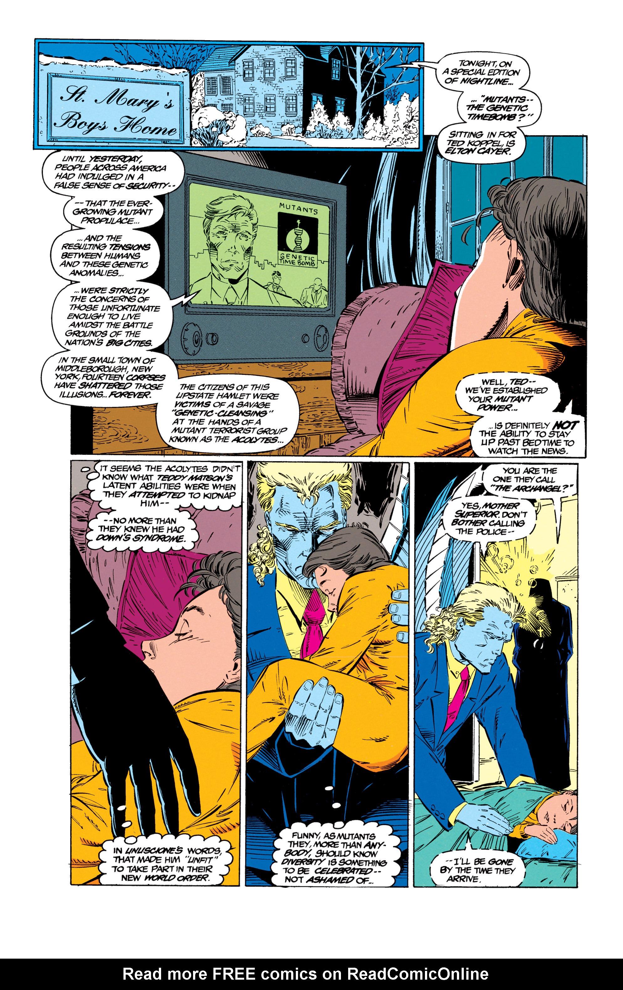 Read online Uncanny X-Men (1963) comic -  Issue #299 - 7