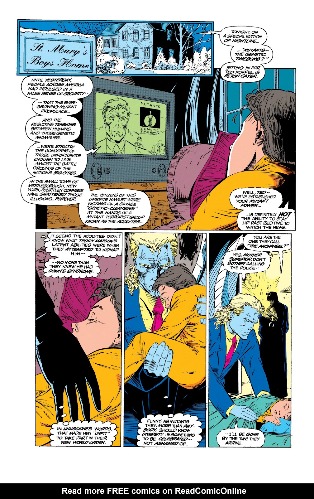 Uncanny X-Men (1963) issue 299 - Page 7