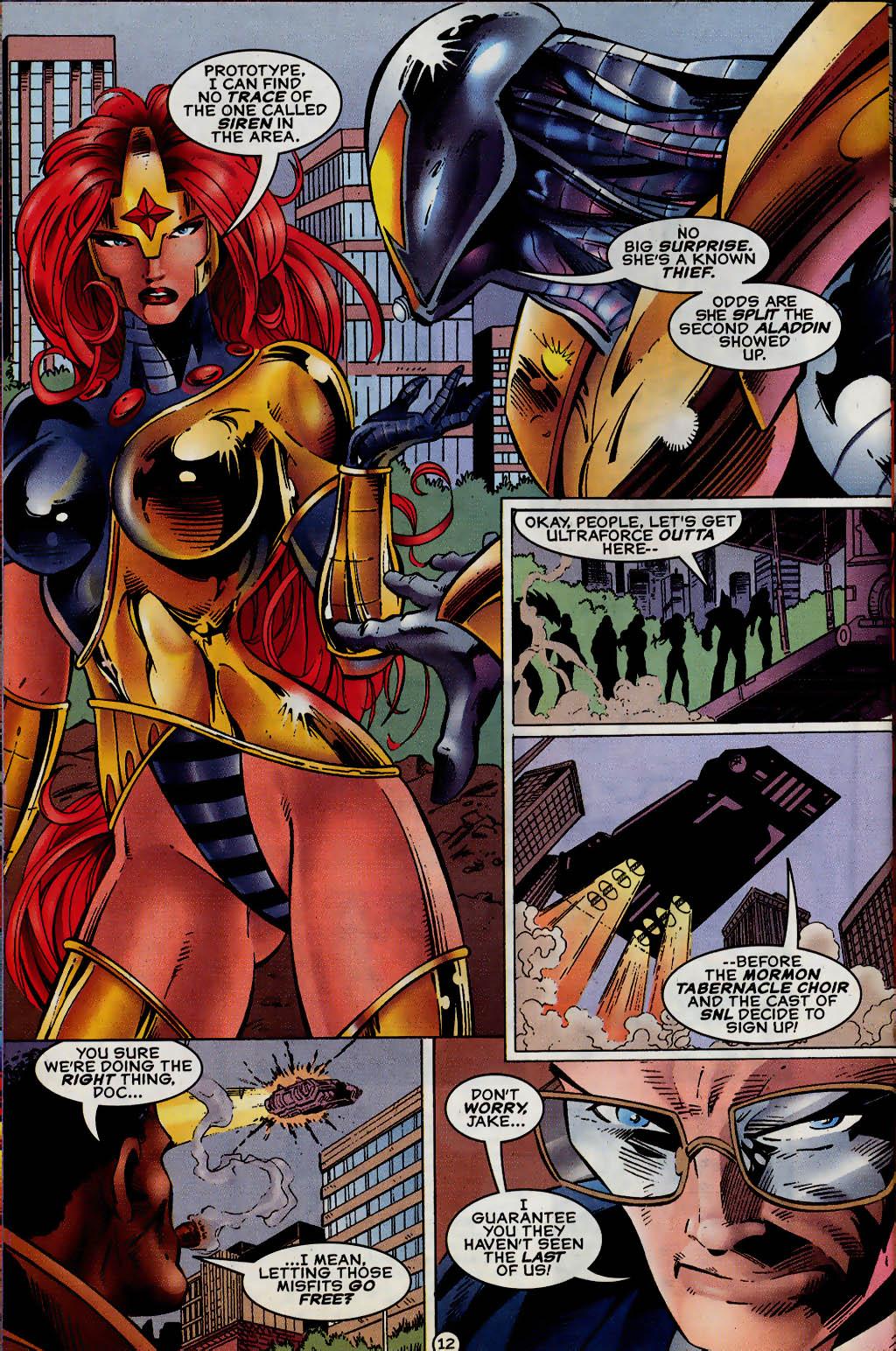 Read online UltraForce (1995) comic -  Issue #13 - 13