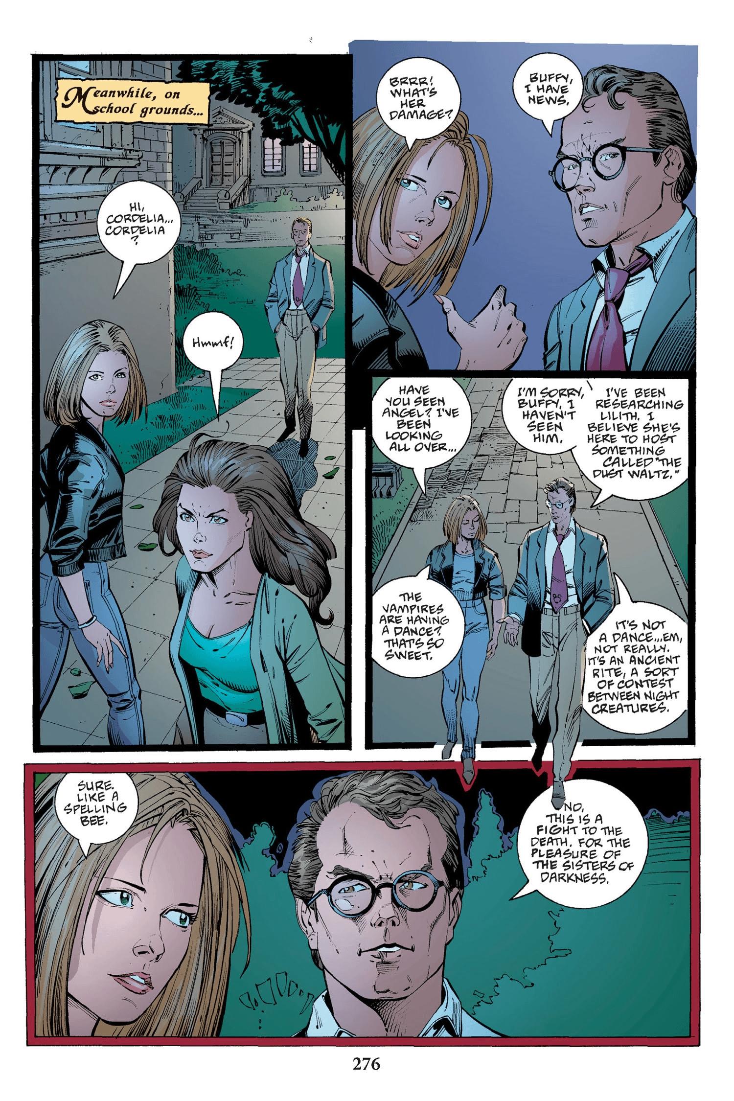 Read online Buffy the Vampire Slayer: Omnibus comic -  Issue # TPB 2 - 268