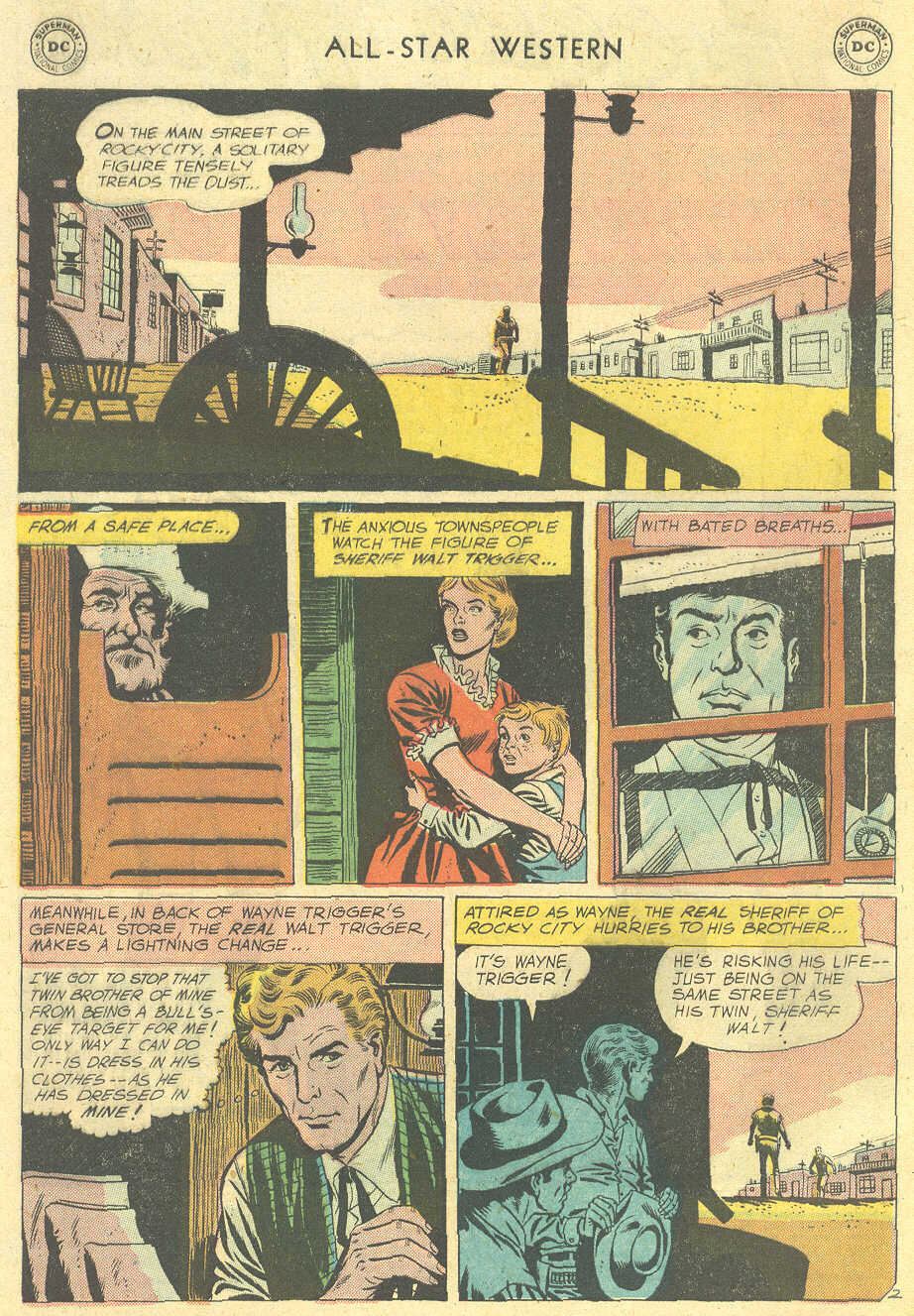 Read online All-Star Western (1951) comic -  Issue #101 - 4