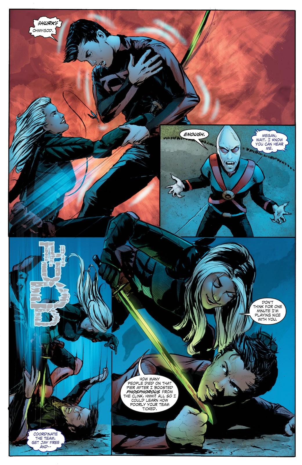 Read online Smallville Season 11 [II] comic -  Issue # TPB 7 - 167