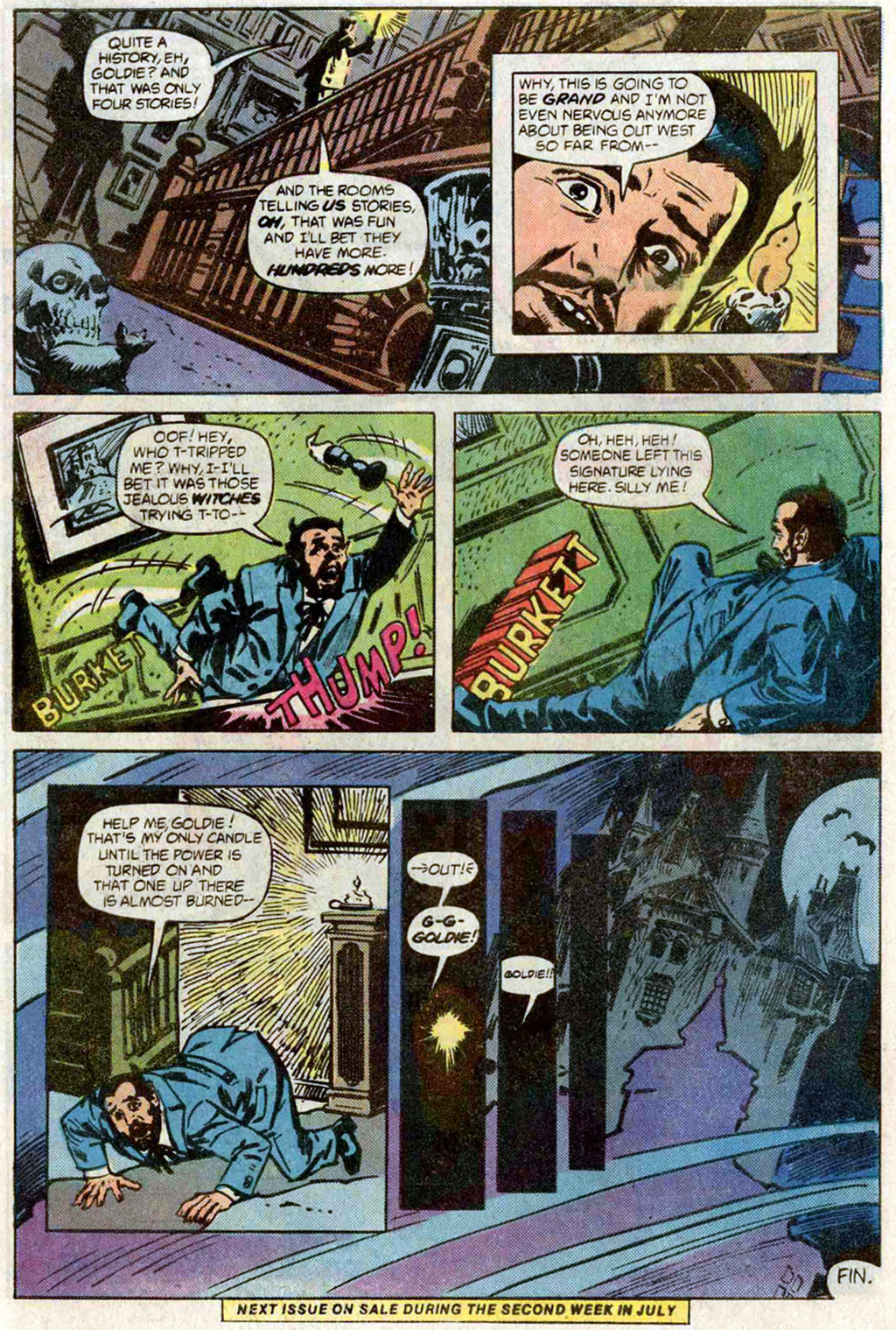 Read online Secrets of Haunted House comic -  Issue #40 - 34