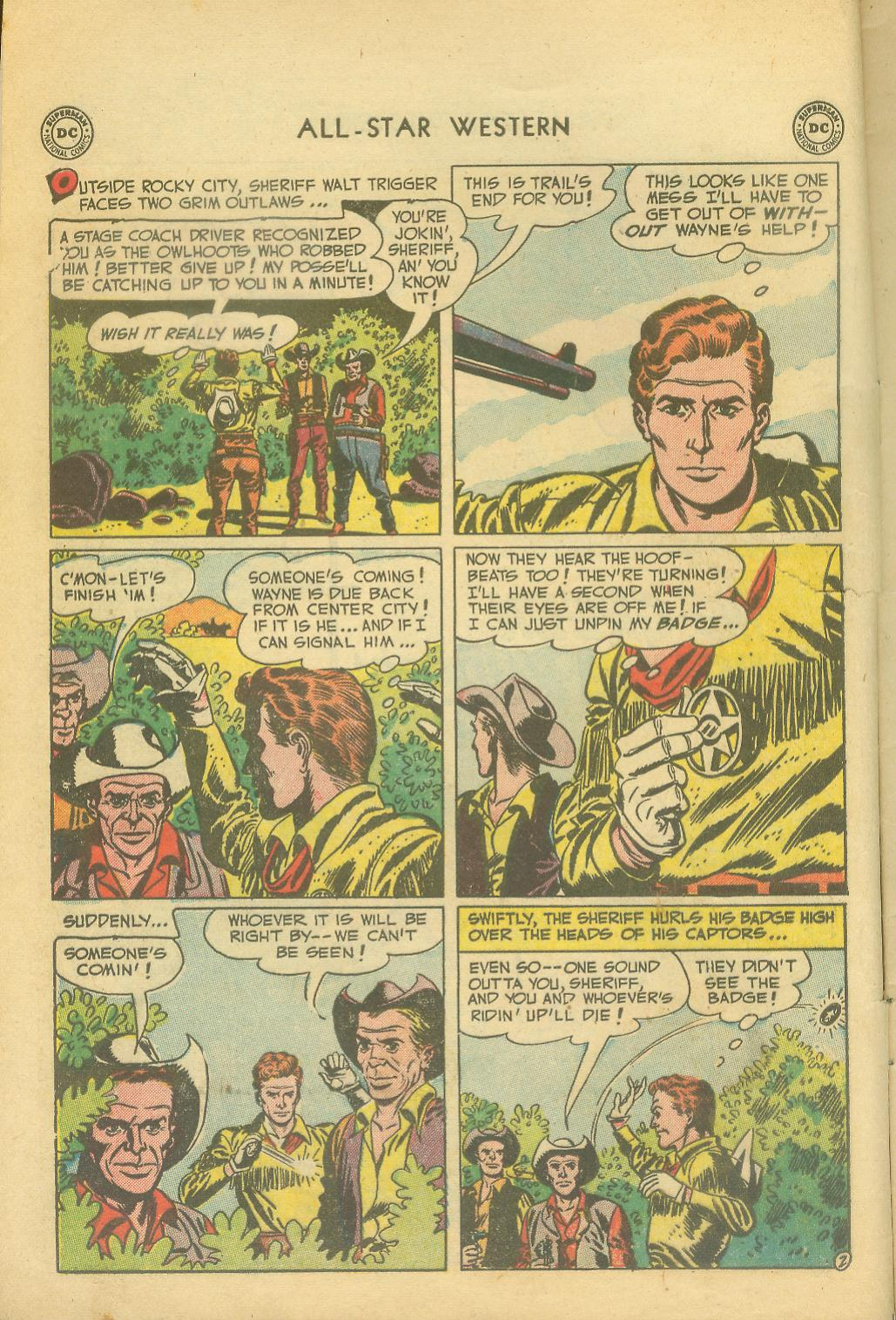 Read online All-Star Western (1951) comic -  Issue #65 - 4