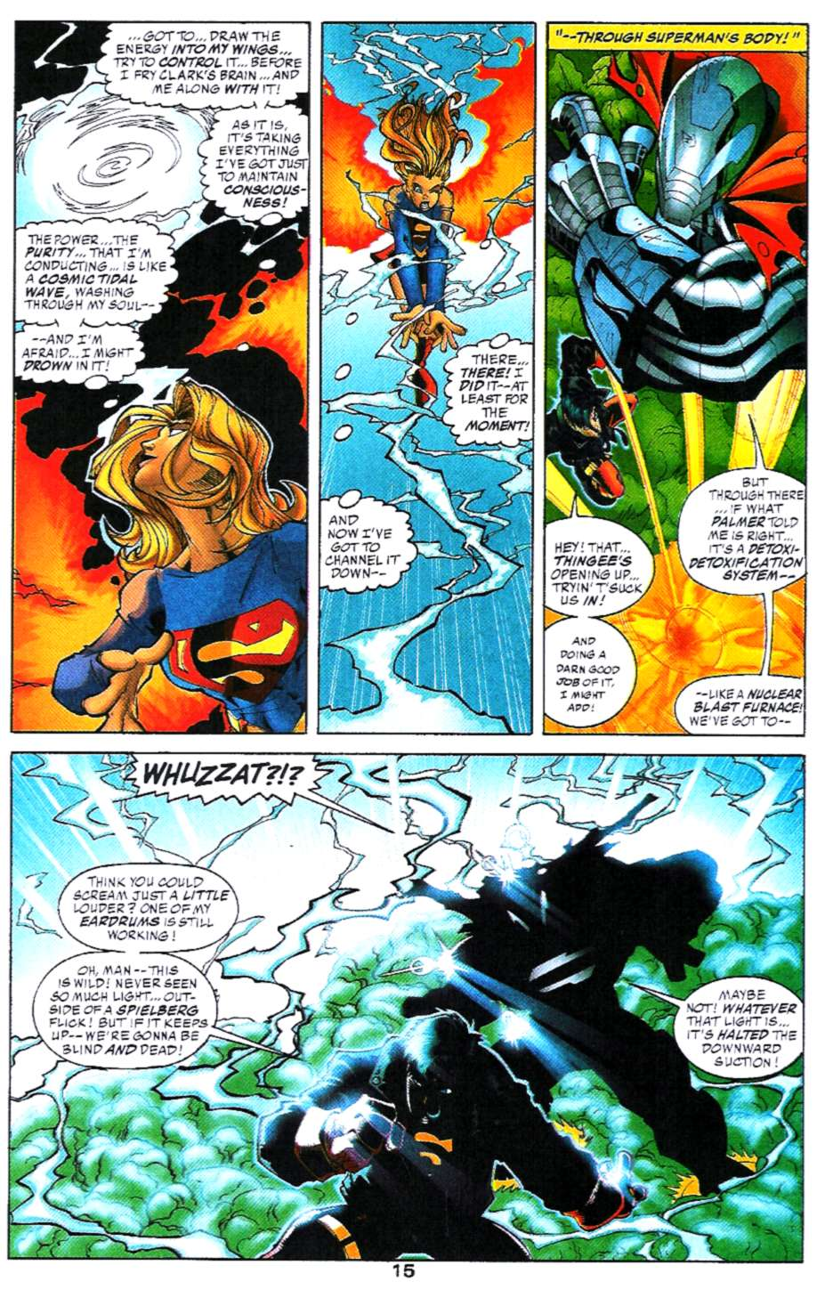 Read online Adventures of Superman (1987) comic -  Issue #580 - 16