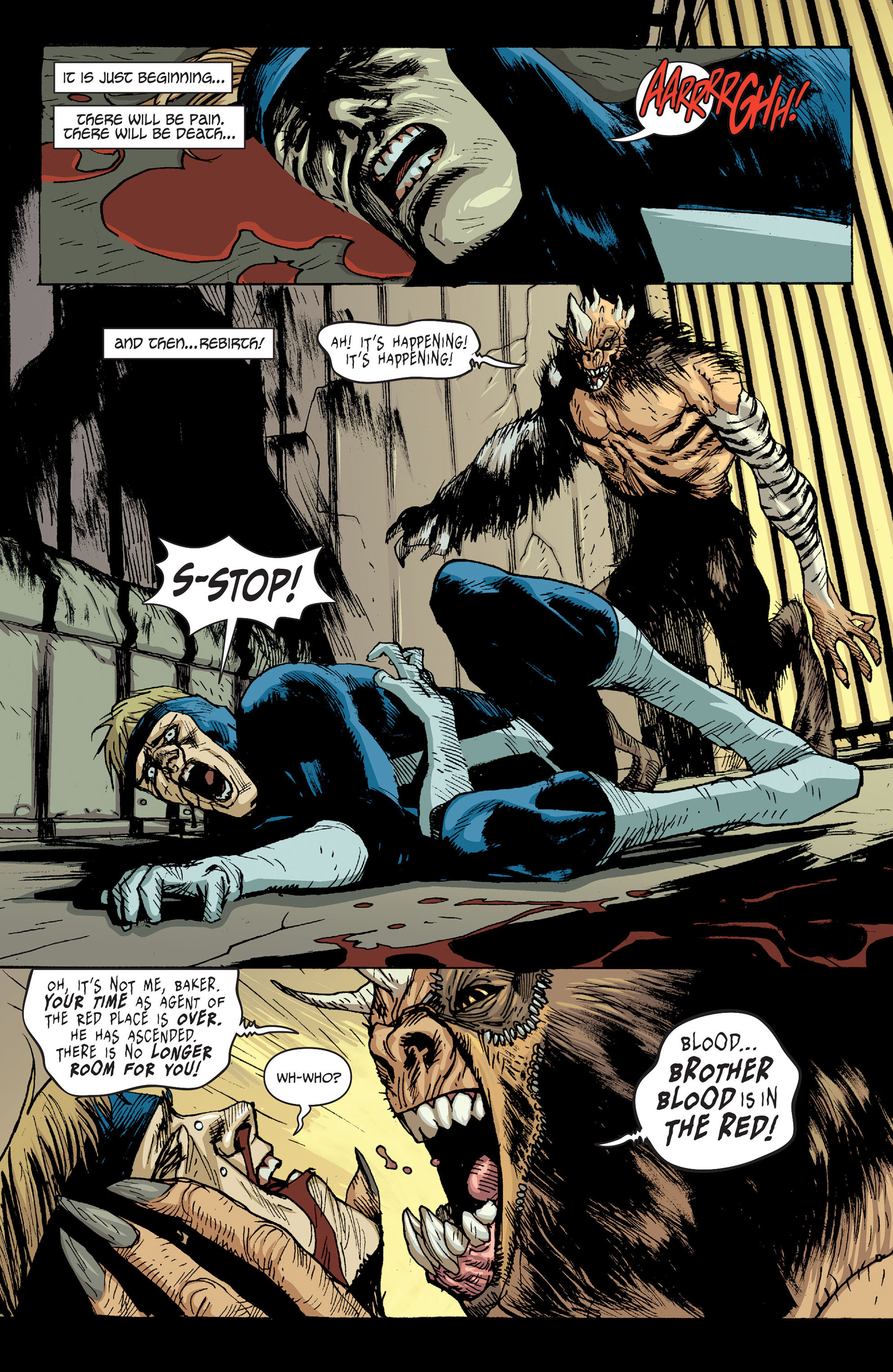 Read online Animal Man (2011) comic -  Issue #24 - 2