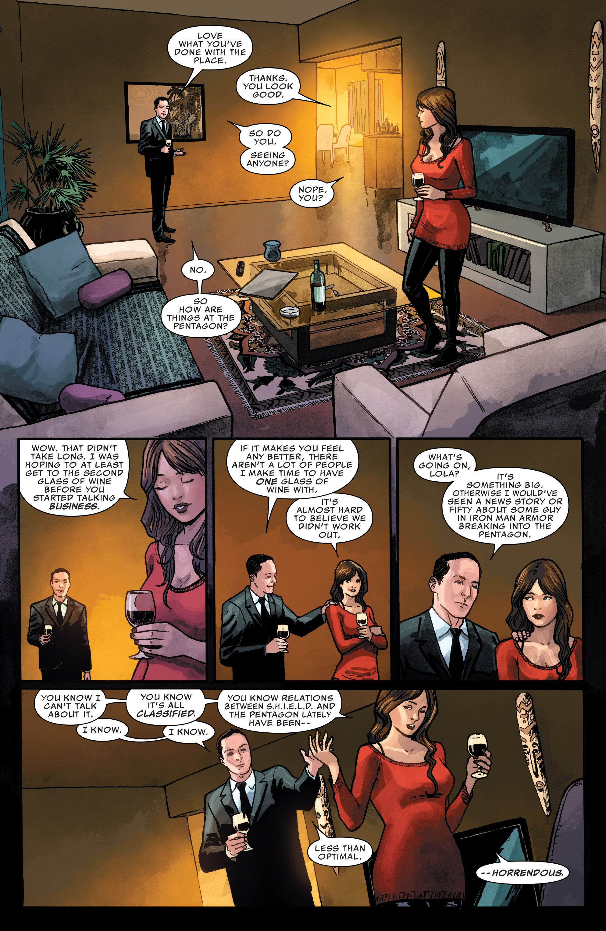Read online Agents of S.H.I.E.L.D. comic -  Issue #1 - 16