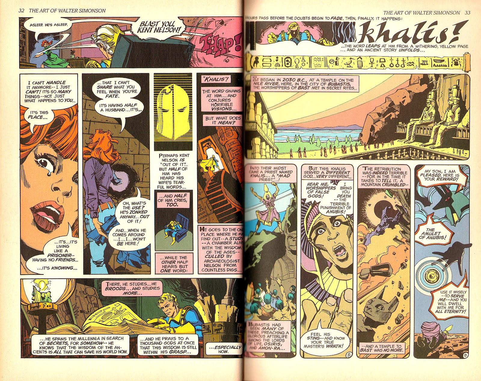 Read online The Art of Walter Simonson comic -  Issue # TPB - 18