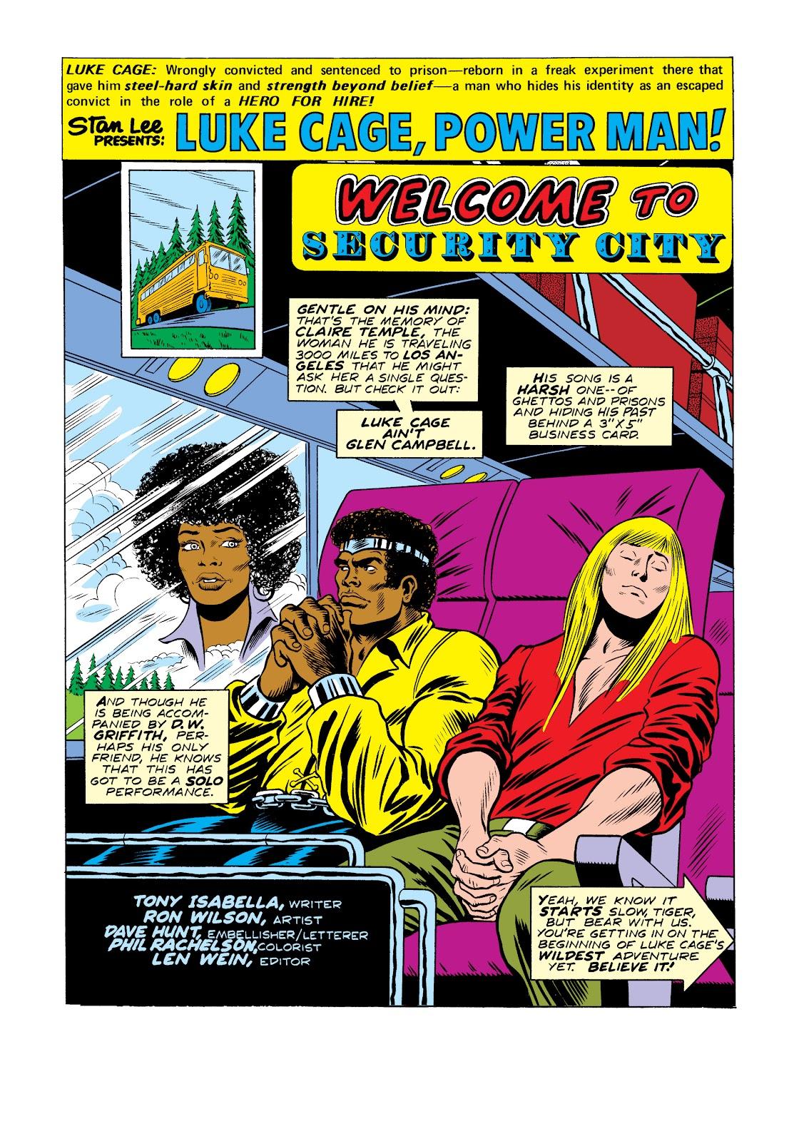 Read online Marvel Masterworks: Luke Cage, Power Man comic -  Issue # TPB 2 (Part 2) - 26