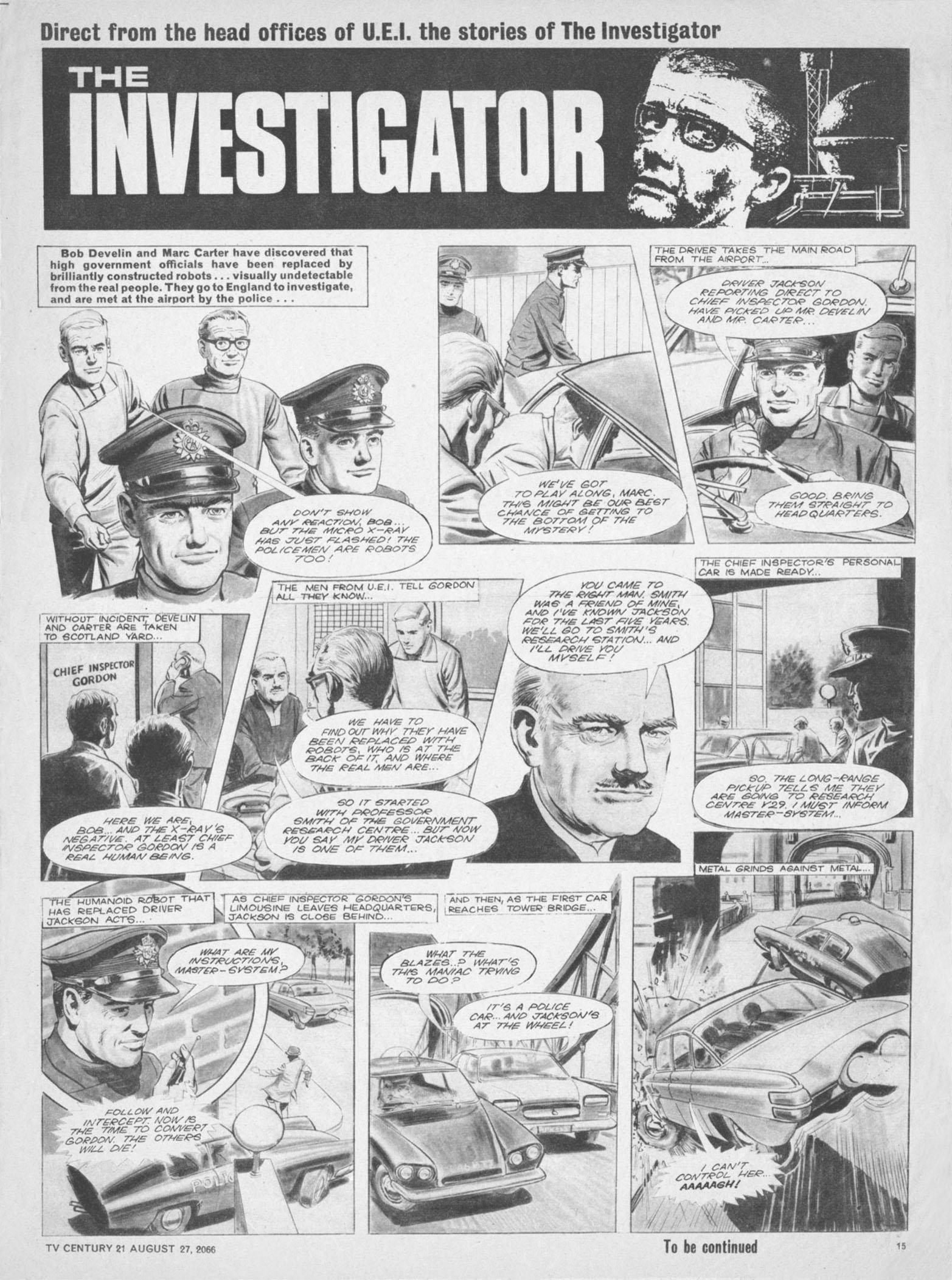 Read online TV Century 21 (TV 21) comic -  Issue #84 - 14