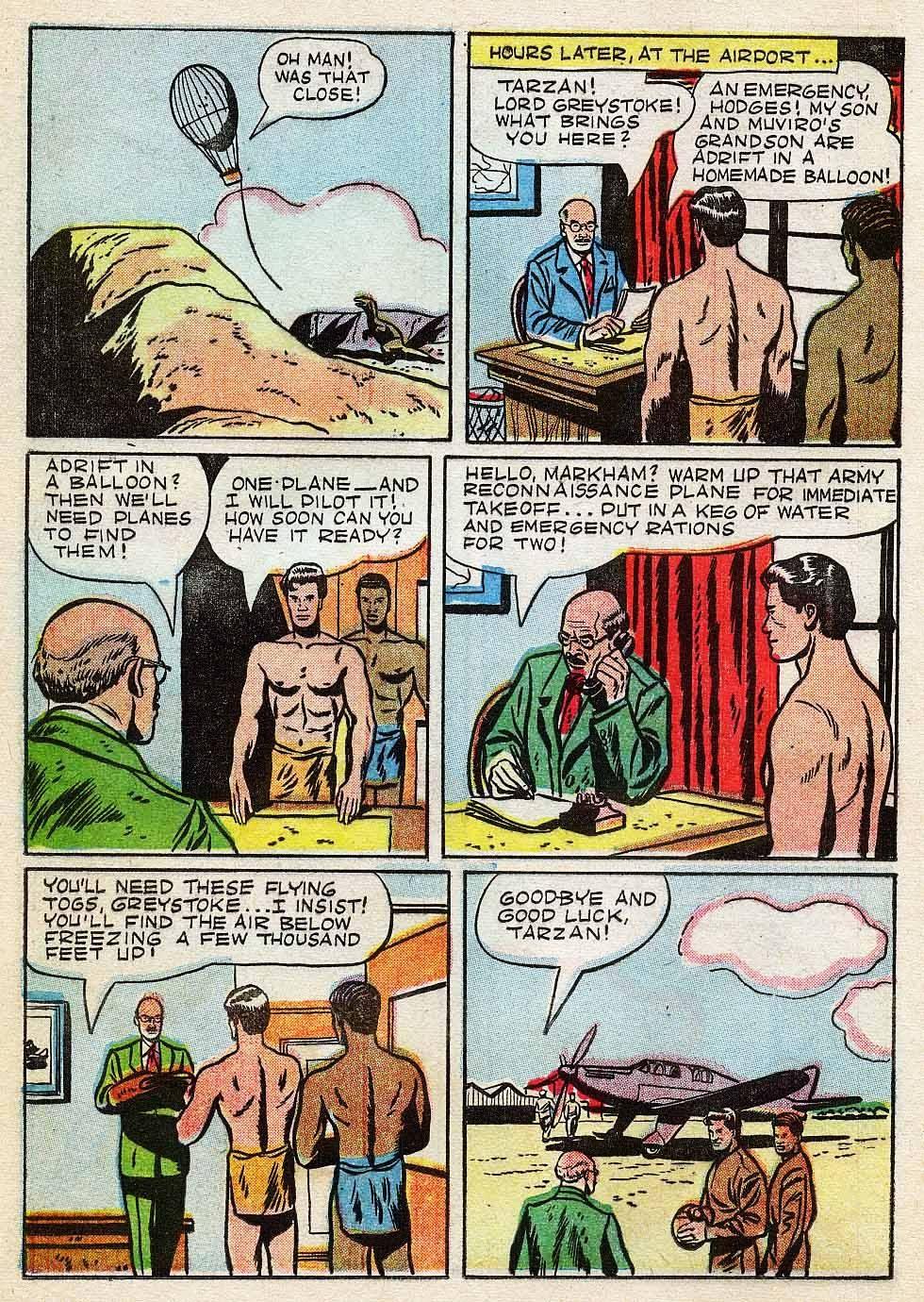 Tarzan (1948) issue 7 - Page 12