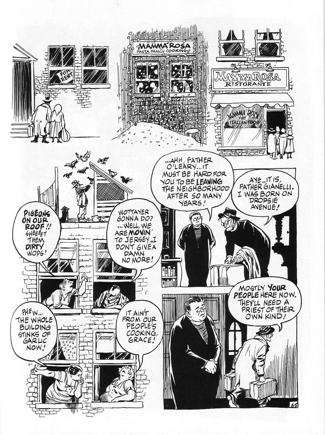 Read online Dropsie Avenue, The Neighborhood comic -  Issue # Full - 67