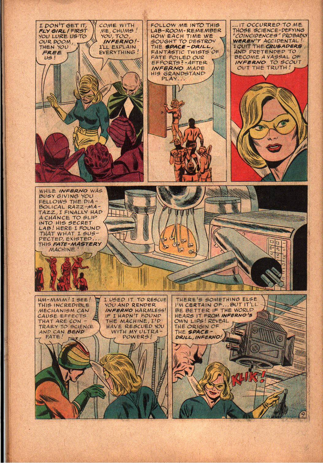 The Mighty Crusaders (1965) Issue #2 #2 - English 18