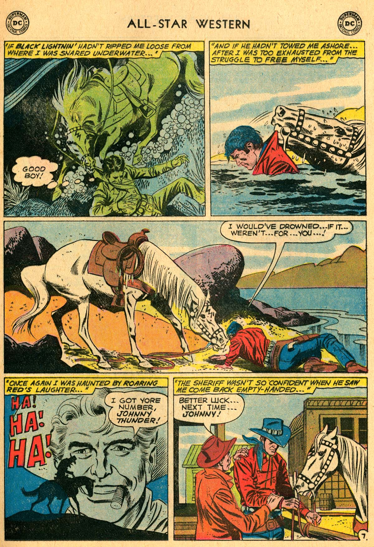 Read online All-Star Western (1951) comic -  Issue #115 - 9