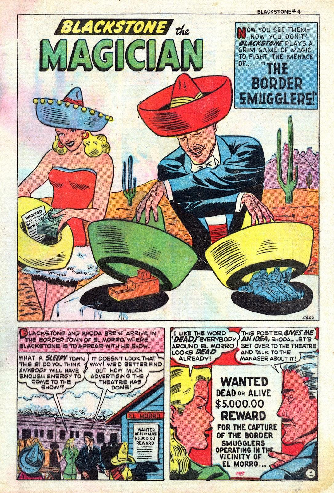 Read online Blackstone the Magician comic -  Issue #4 - 3