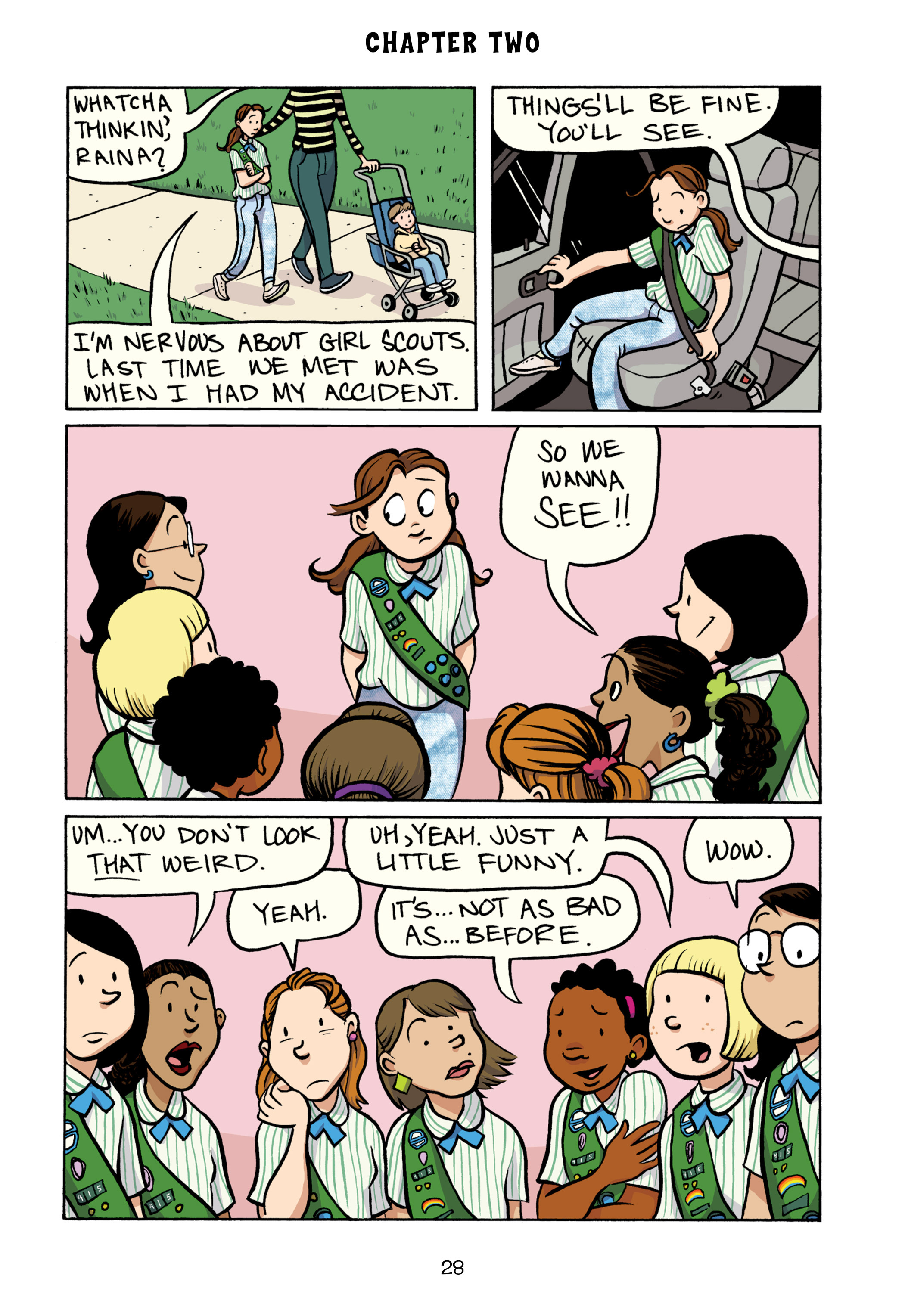 Read online Smile comic -  Issue # TPB - 34