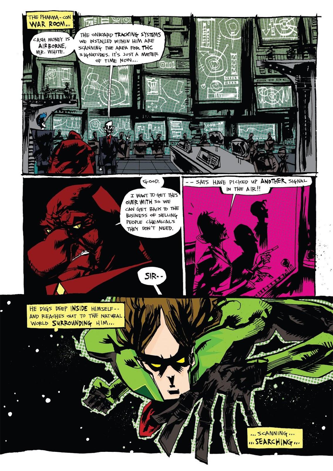 Read online Marijuanaman comic -  Issue # Full - 36