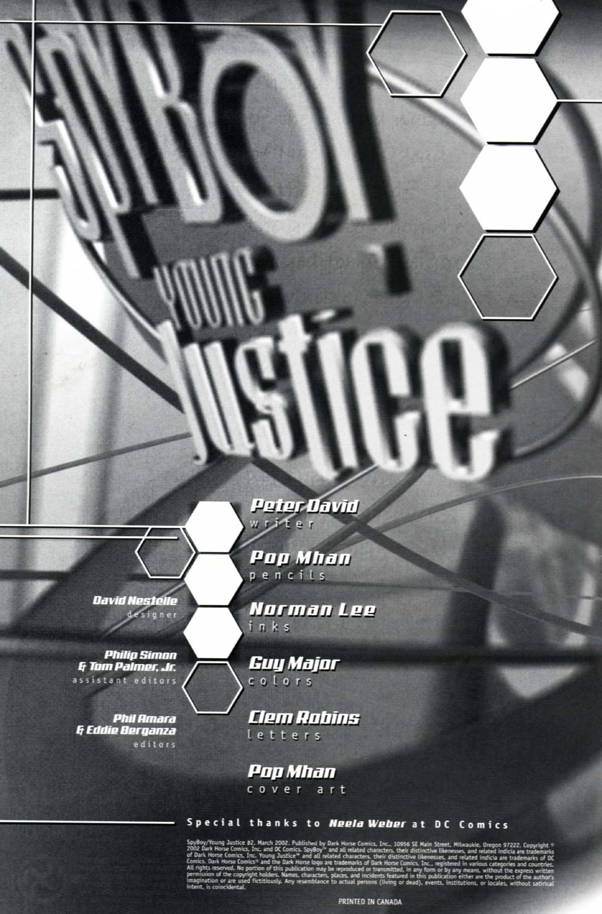 Read online SpyBoy/Young Justice comic -  Issue #2 - 2