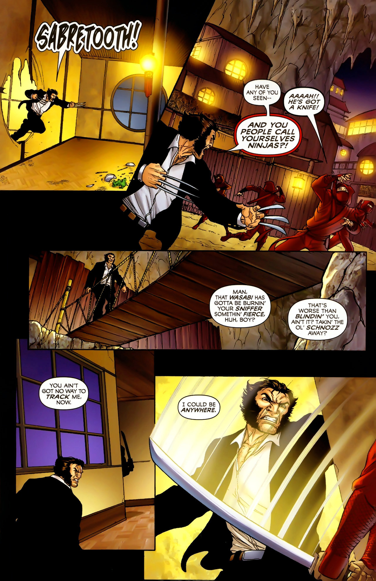 Read online Wolverine: First Class comic -  Issue #2 - 13