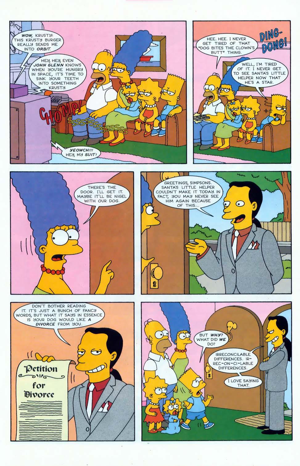 Read online Simpsons Comics comic -  Issue #45 - 12