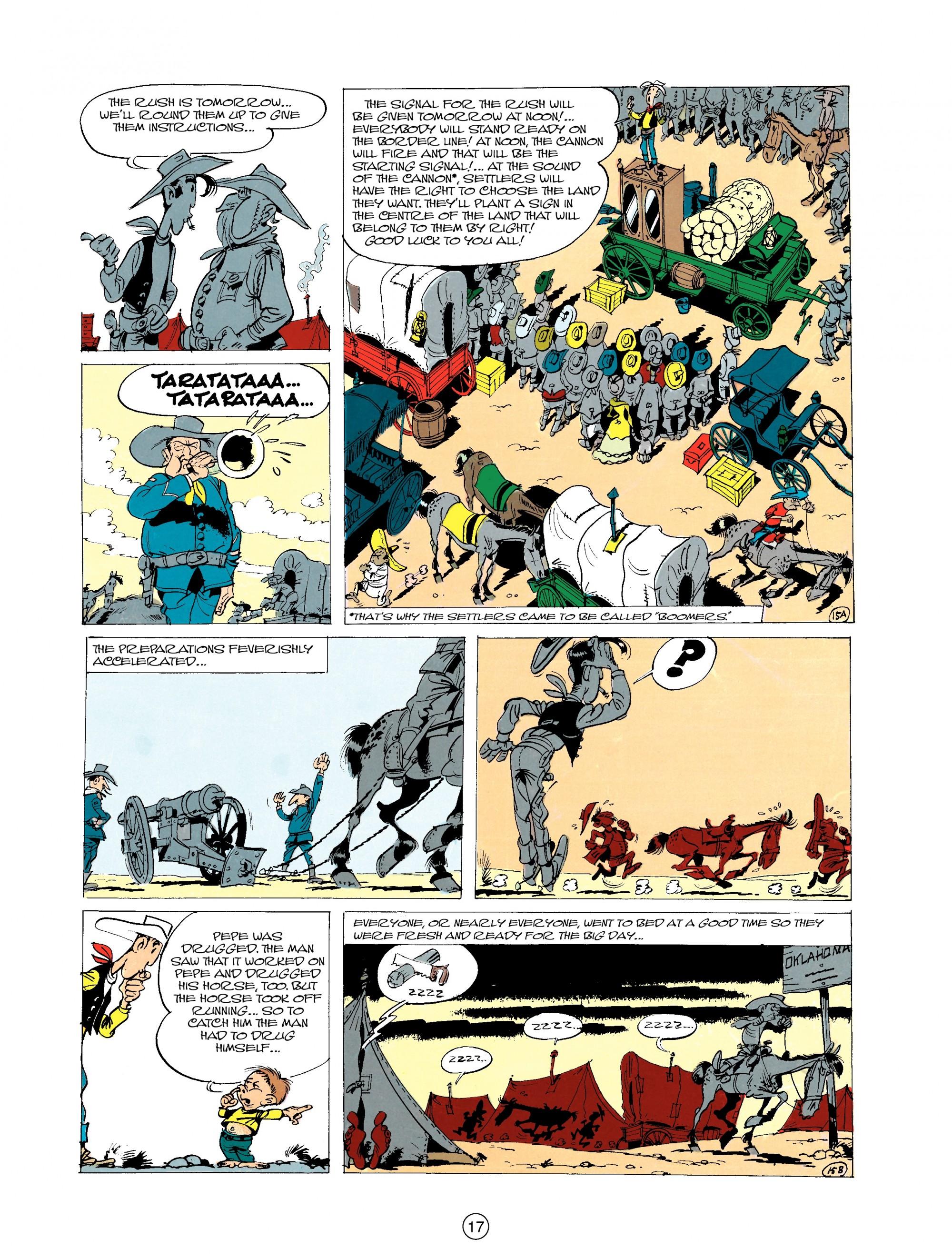 Read online A Lucky Luke Adventure comic -  Issue #20 - 17