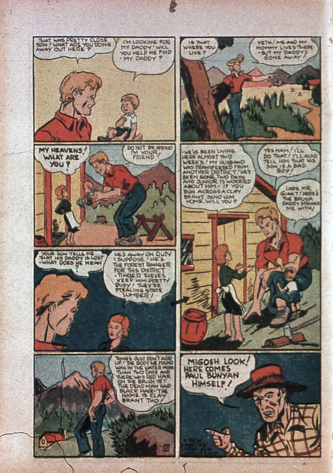 Read online Amazing Man Comics comic -  Issue #7 - 55