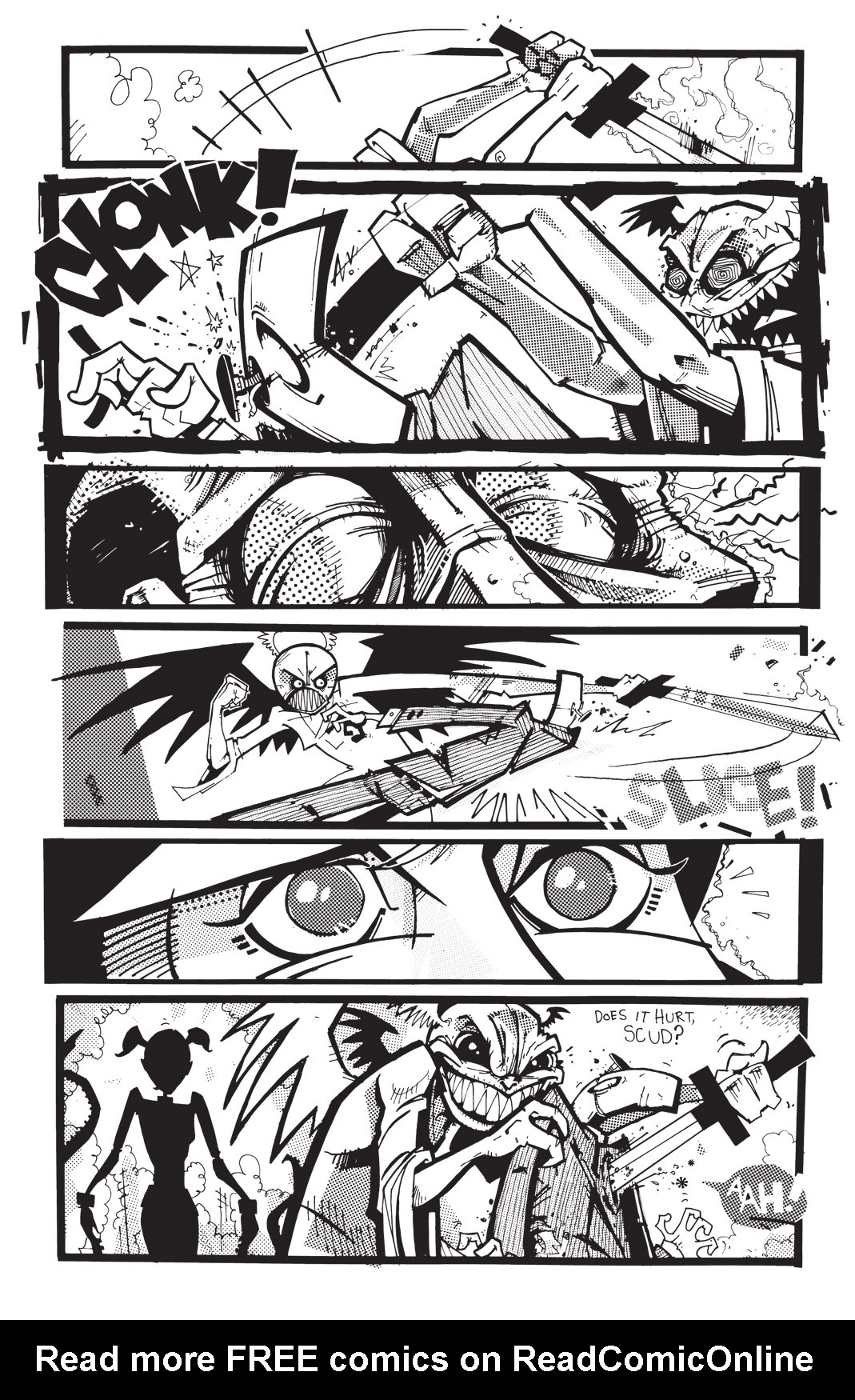 Read online Scud: The Disposable Assassin: The Whole Shebang comic -  Issue # TPB (Part 4) - 130