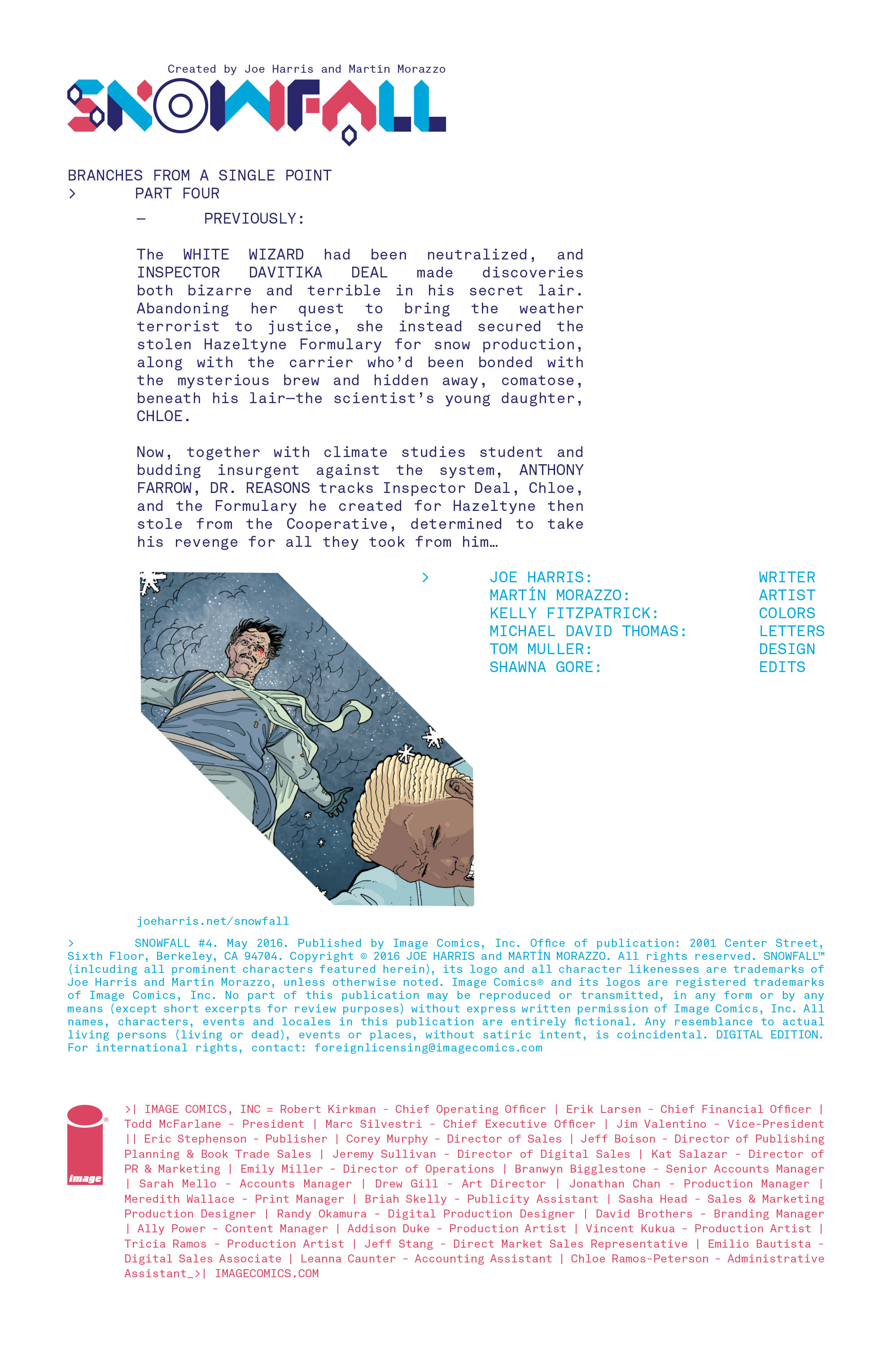 Read online Snowfall comic -  Issue #4 - 2