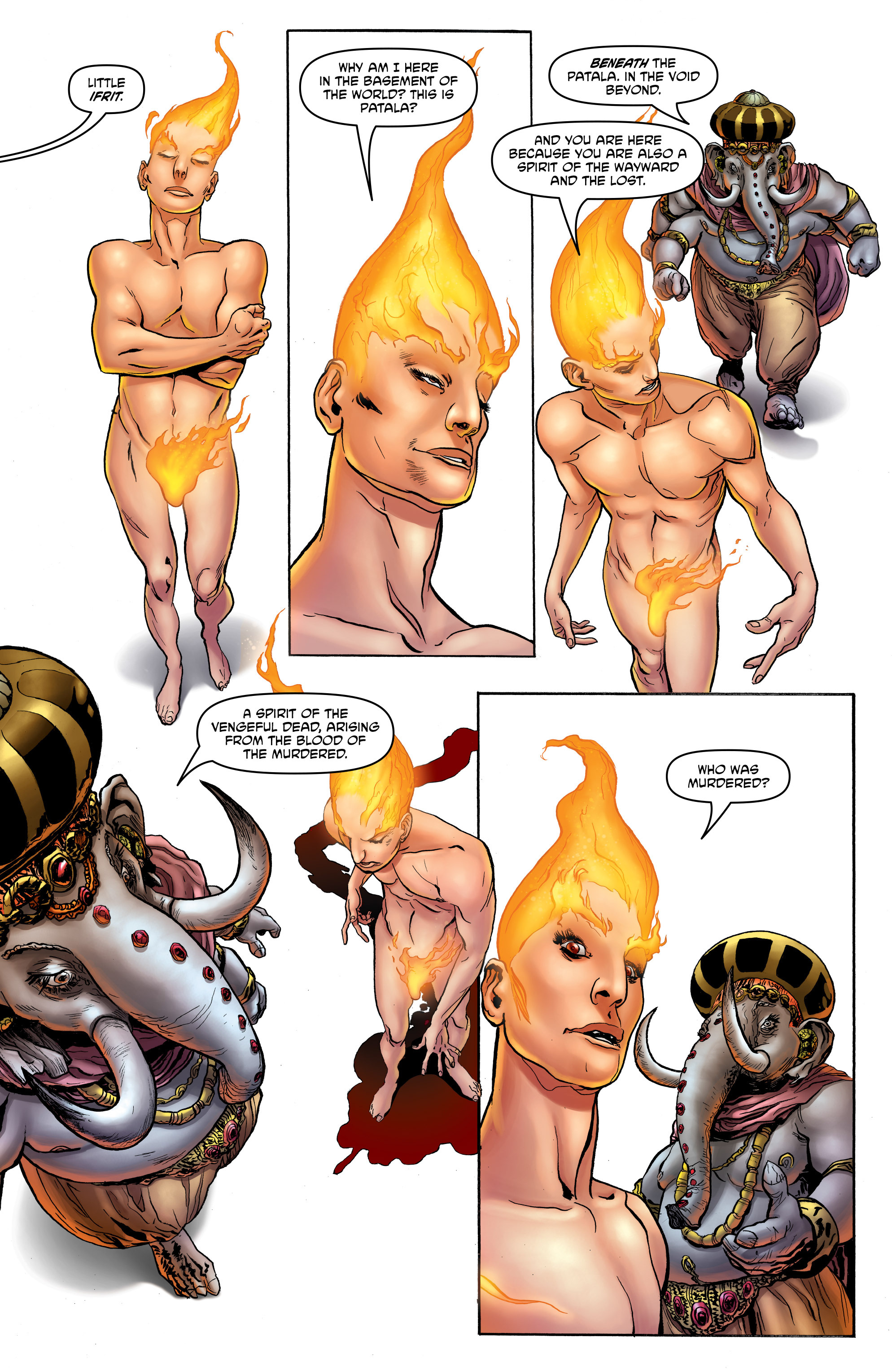 Read online God is Dead: Book of Acts comic -  Issue # Alpha - 12