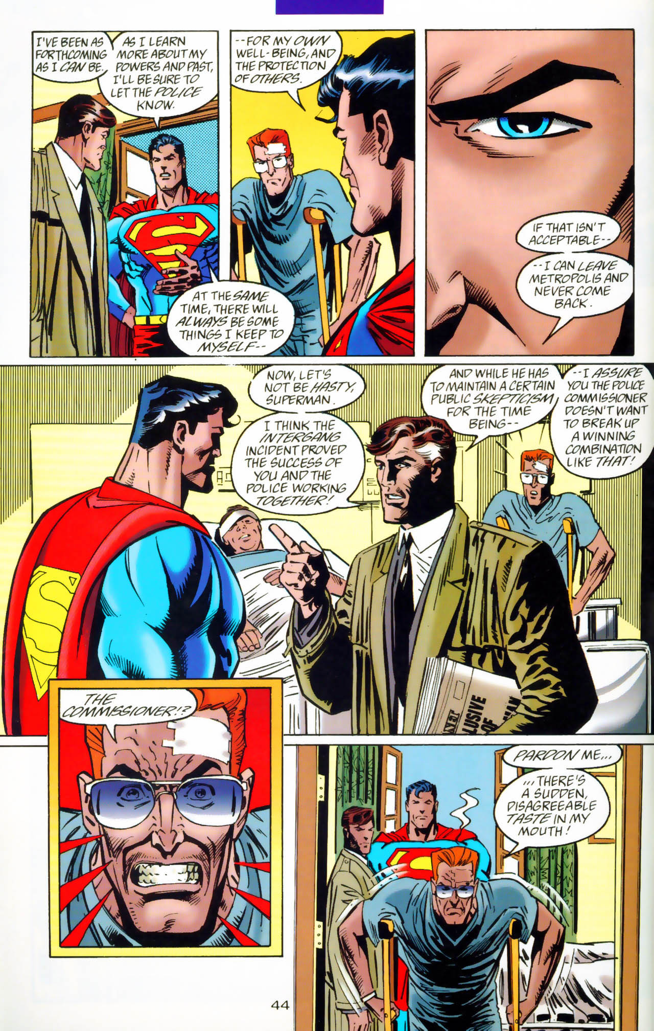 Read online Adventures of Superman (1987) comic -  Issue #Adventures of Superman (1987) _Annual 7 - 45